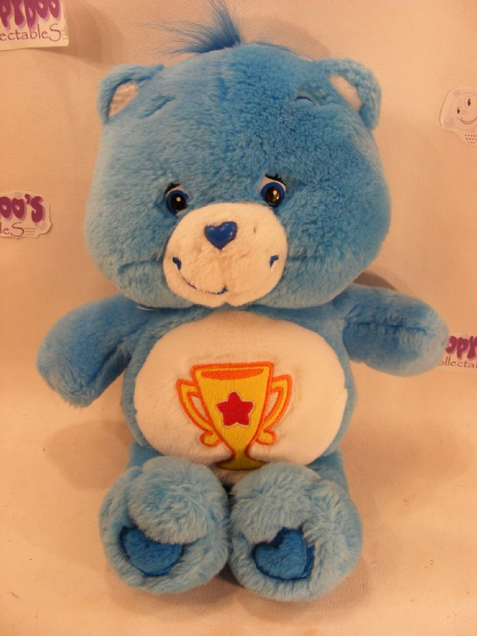 "MODERN 12"" BLUE CHAMP CAREBEAR CARE BEARS"